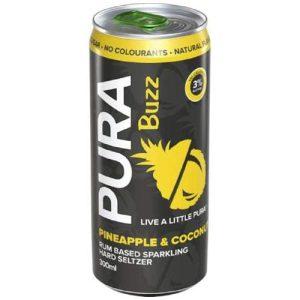 Pura Buzz Pineapple and Coconut DG