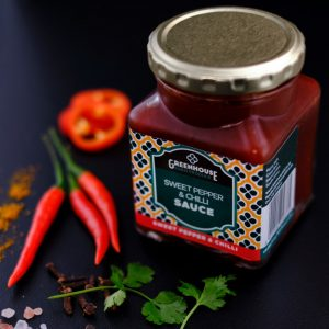 Greenhouse Sweet-pepper and Chilli Sauce